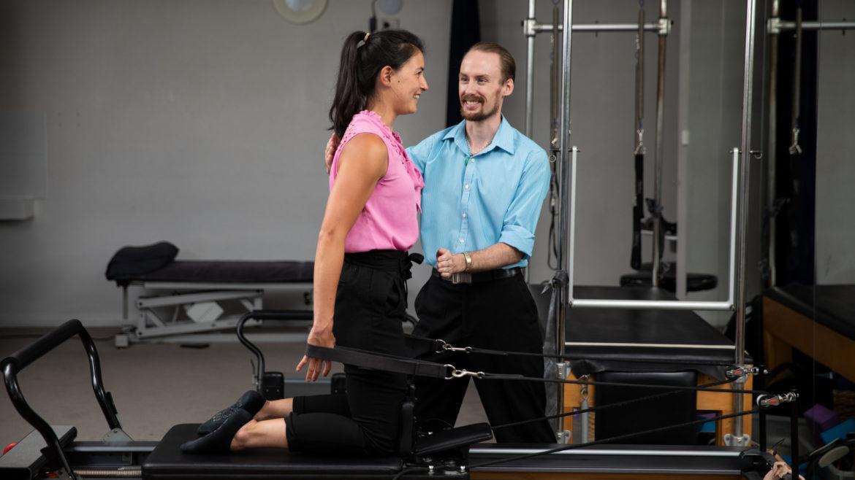 North Ryde Physiotherapist Scott Lyon Pilates